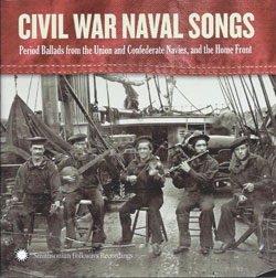 Civil War Navy Songs Jeff Davis, Dan Milner, David Coffin CD